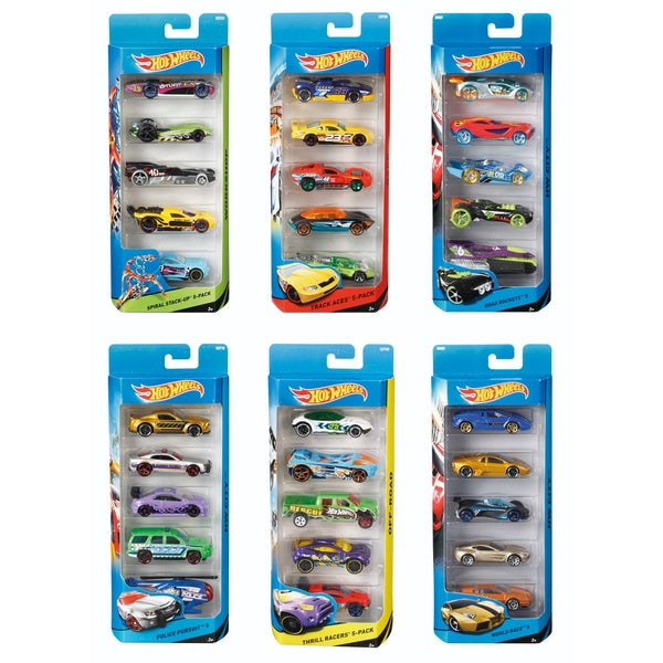 Hot Wheels 5 Car Pack