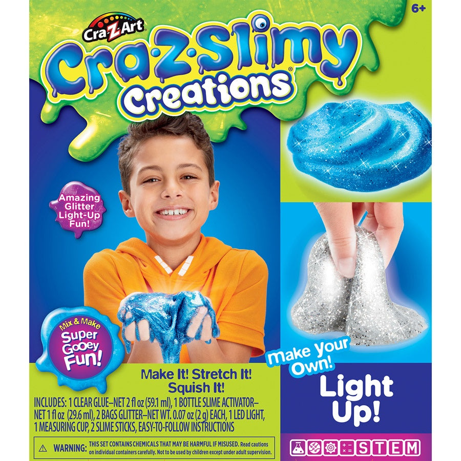 Cra-Z-Slimy Creations - Light Up