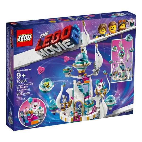 70838 LEGO The LEGO Movie 2 Queen Watevra's So-Not-Evil' Space Palace