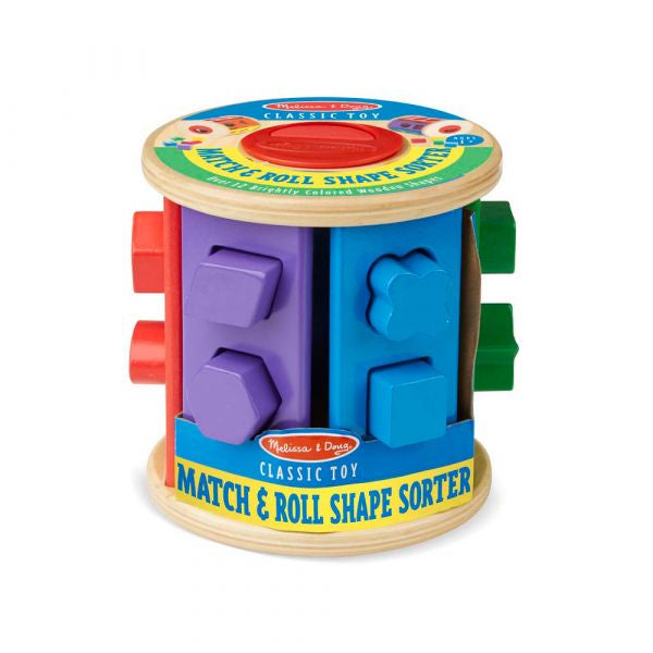 9041 Melissa & Doug Shape Sorting Drum