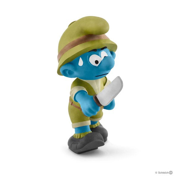 20782 Schleich Jungle Smurf Adventurer