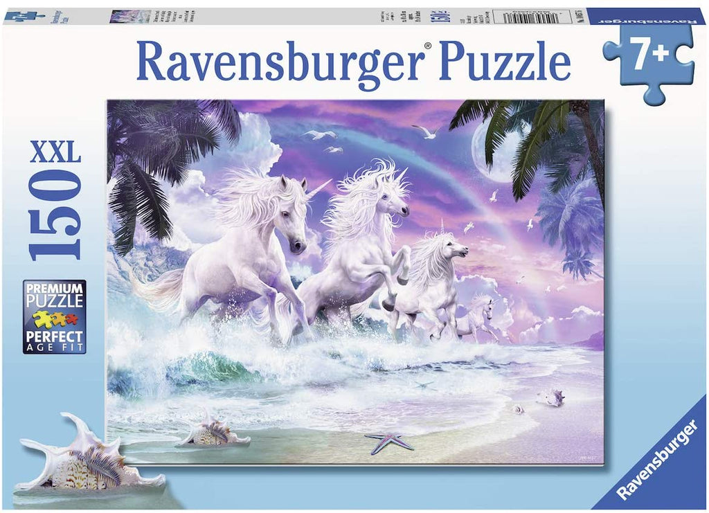 Ravensburger Unicorn Beach 150 Piece XXL Puzzle