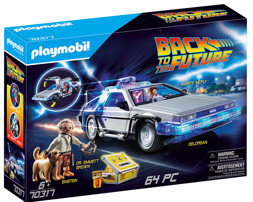 70317 Playmobil Back to the Future DeLorean