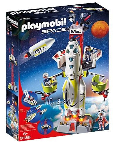9488 Playmobil Mission Rocket with Launch Site
