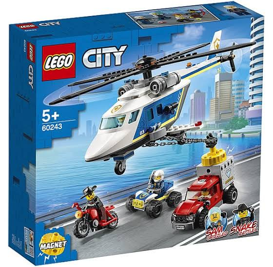 60243 LEGO City Police Helicopter Chase