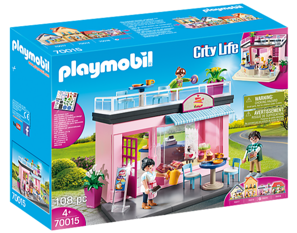 70015 Playmobil My Café