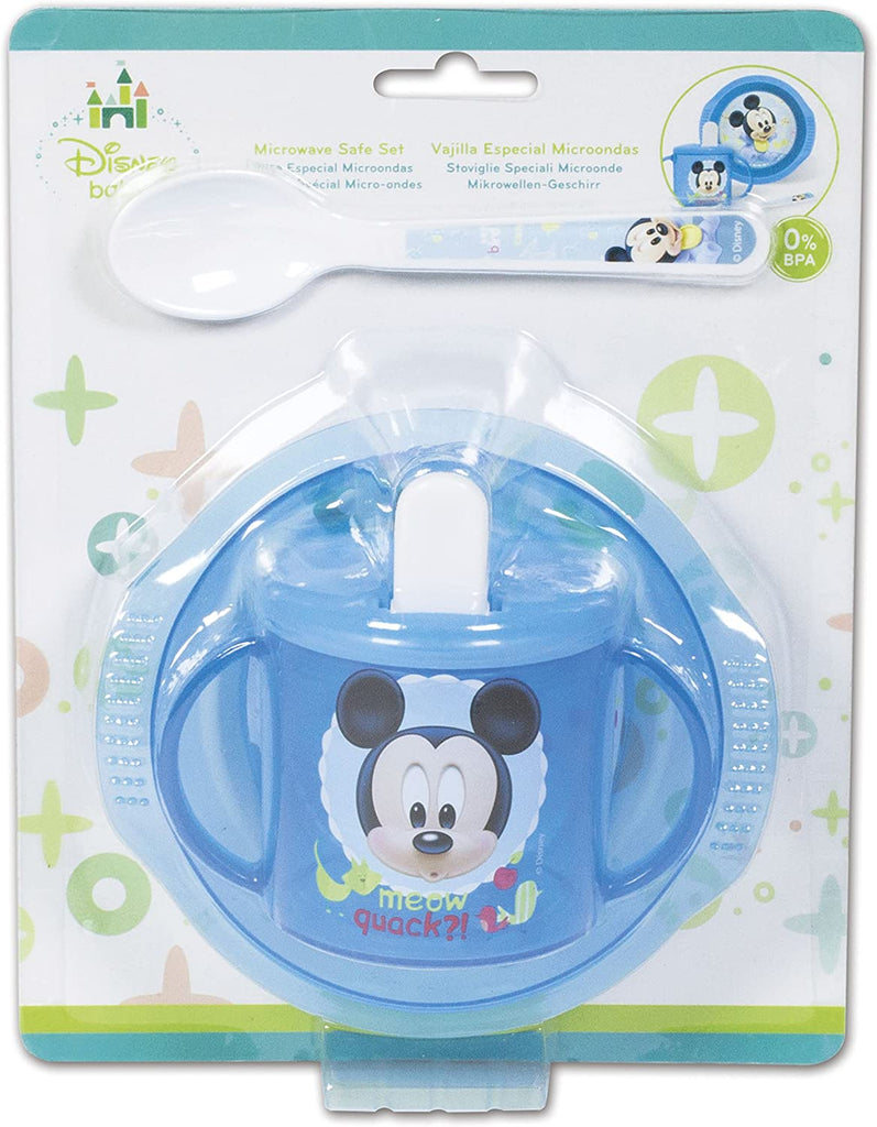Disney Baby 3 Piece Set - Mickey Mouse Baby