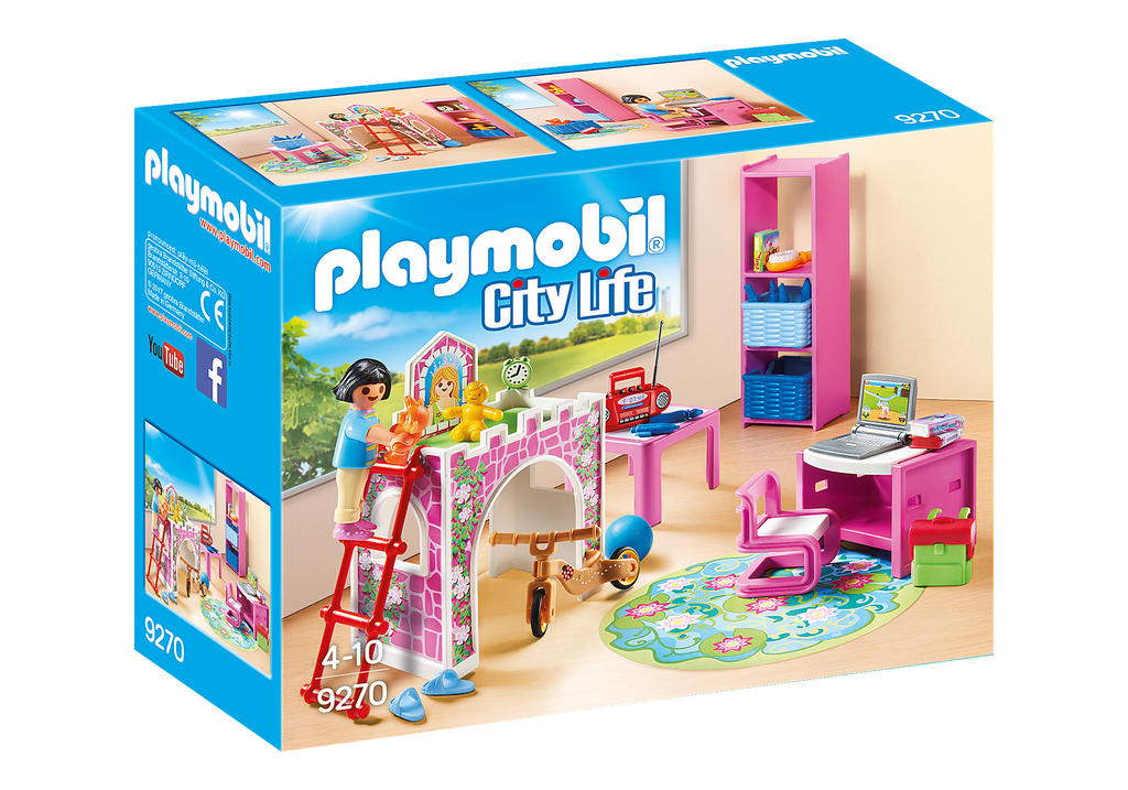 9270 Playmobil Children's Room