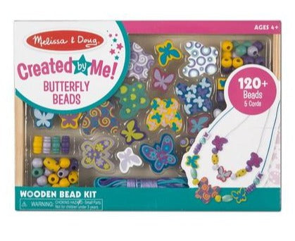 4179 Melissa & Doug Butterfly Friends Wooden Bead Set