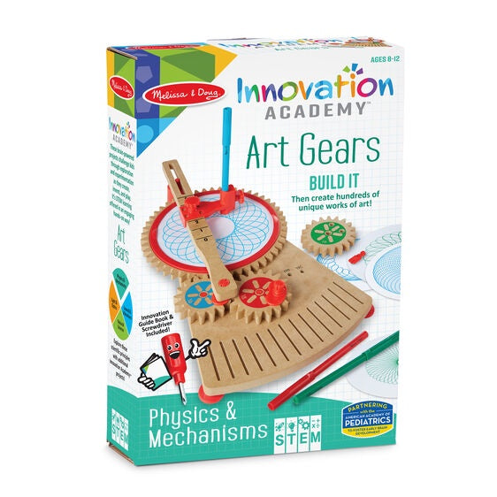 30577 Melissa & Doug Innovation Academy - Art Gears