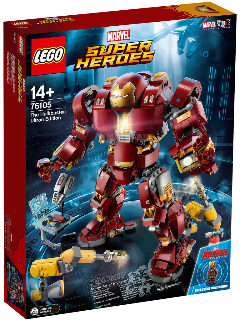 76105 LEGO Super Heroes The Hulkbuster Ultron Edition