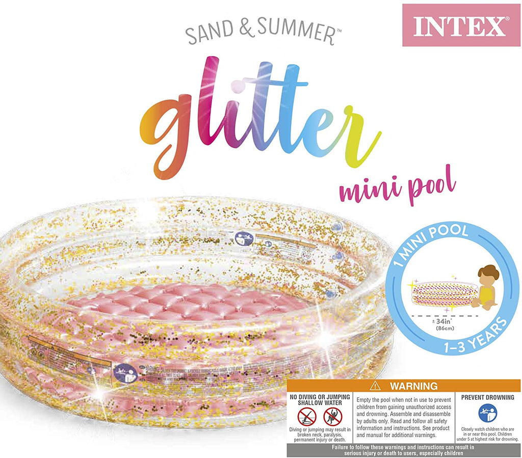 Sand & Summer Glitter Mini Pool