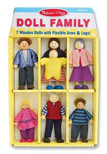 2464 Melissa & Doug Doll House Family