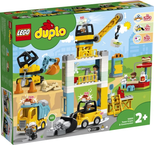 10933 LEGO DUPLO Tower Crane & Construction