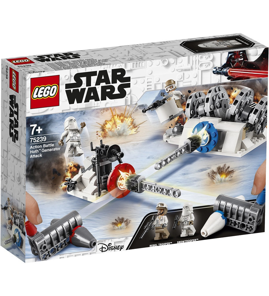 75239 LEGO Star Wars Action Battle Hoth Generator Attack