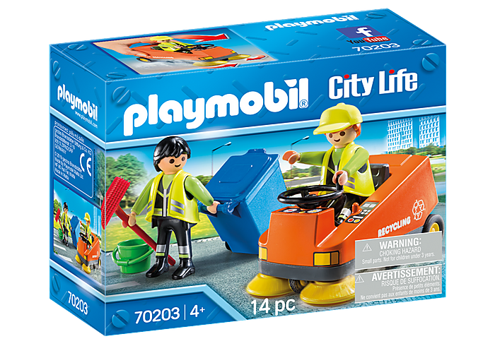 70203 Playmobil Street Sweeper