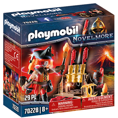 70228 Playmobil Burnham Raiders Fire Master