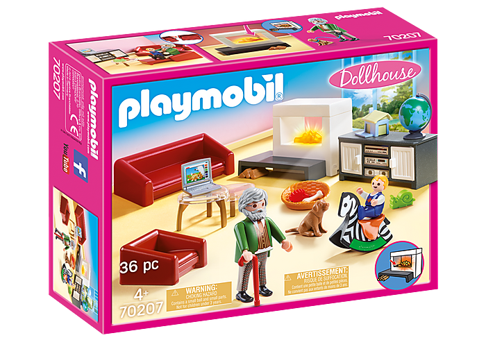70207 Playmobil Comfortable Living Room