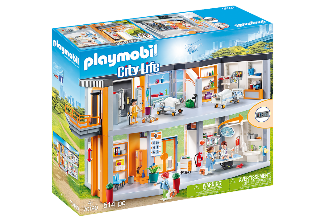 70190 Playmobil Large Hospital