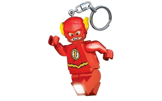 LEGO Superheroes Flash L.E.D Keyring