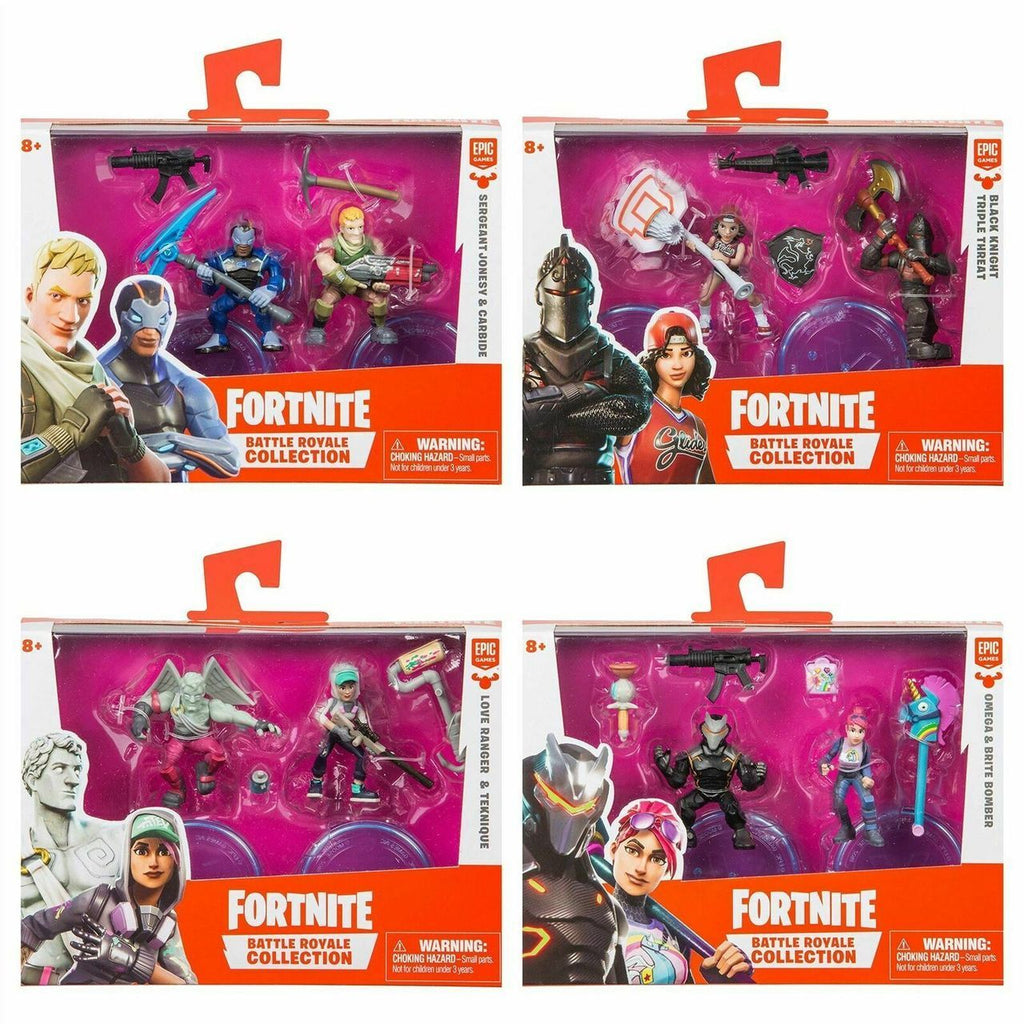 Fortnite Battle Royale Collection 5cm Duo Figures