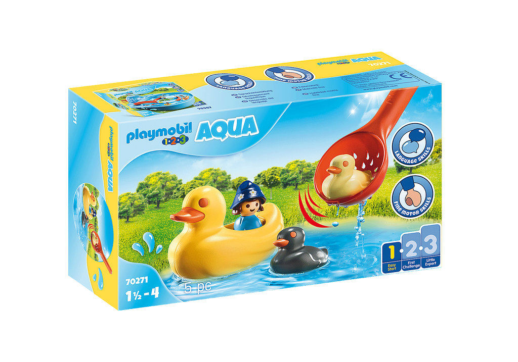 70271 Playmobil 1.2.3. Duck Family