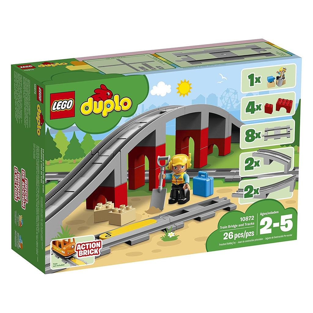 10872 LEGO DUPLO Train Bridge and Tracks