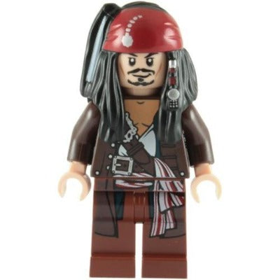 LEGO Pirates of the Caribbean Jack Sparrow Minifigure