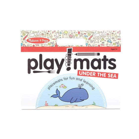 31431 Melissa & Doug Playmats - Under the Sea
