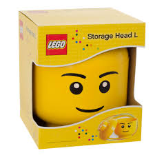 LEGO Large Iconic Storage Head Boy