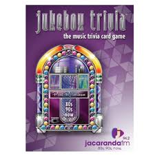 Jukebox Trivia Card Game