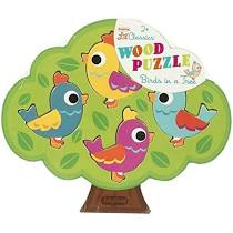 Schylling Lil' Classics Wood Puzzle - Bird in a tree