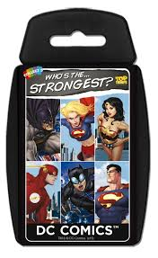 Top Trumps DC Comics Who is the Strongest