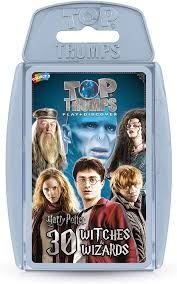 Top Trumps Harry Potter Top 30 Witches & Wizards