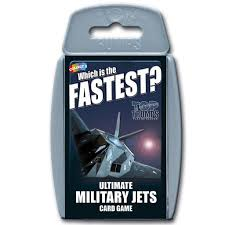 Top Trumps Military Jets