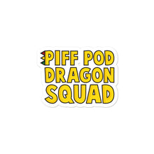 Load image into Gallery viewer, PIFF POD DRAGON SQUAD STICKERS