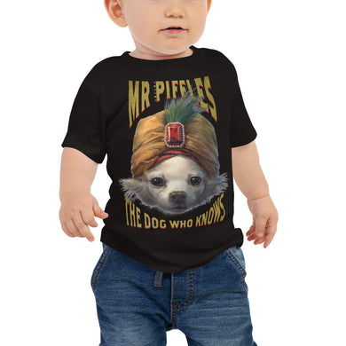 BABY DOG WHO KNOWS T-SHIRT
