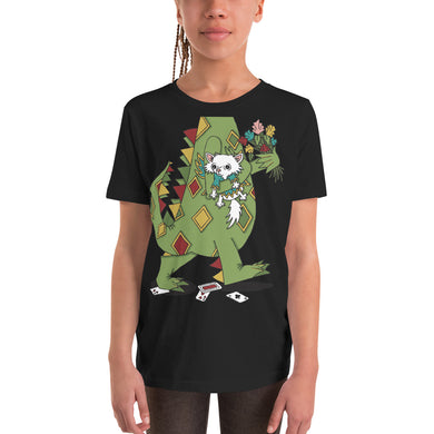 YOUTH SLIM FIT CARTOON T-SHIRT