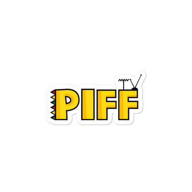 PIFFTV BUBBLES-FREE STICKERS