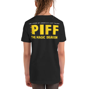 YOUTH SLIM FIT PIFF T-SHIRT
