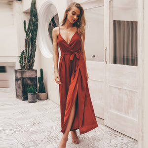 Beauty Queen Tie Waist Jumpsuit