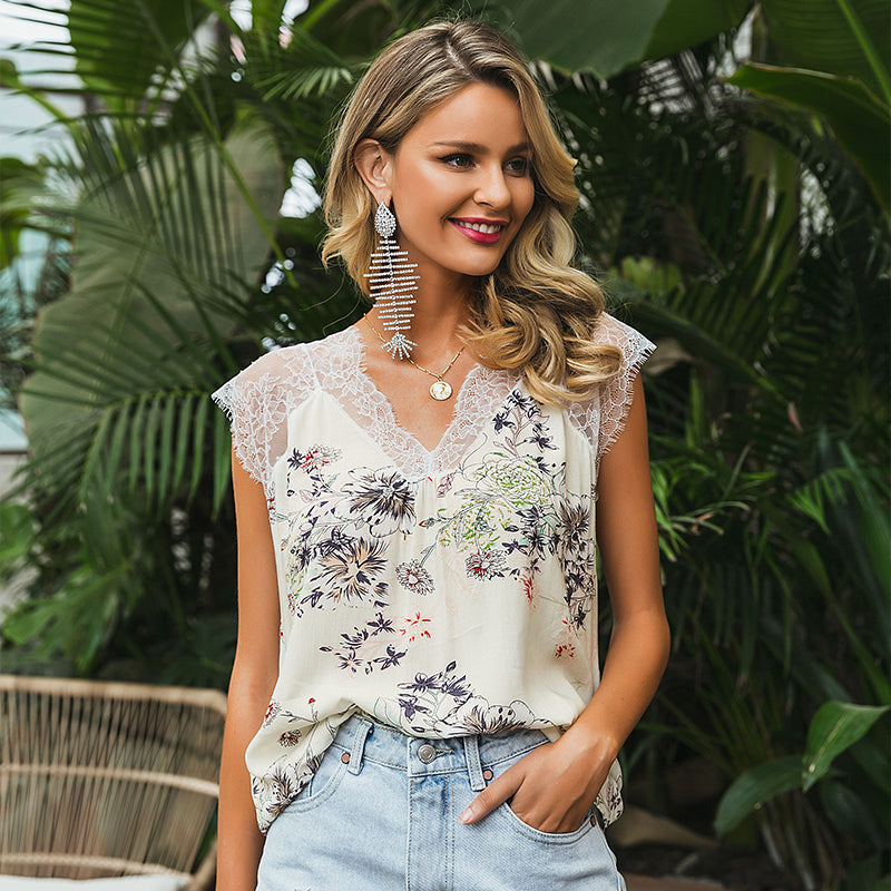 Shake It Up Lace Top