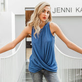 End Of June Twist Hem Tee