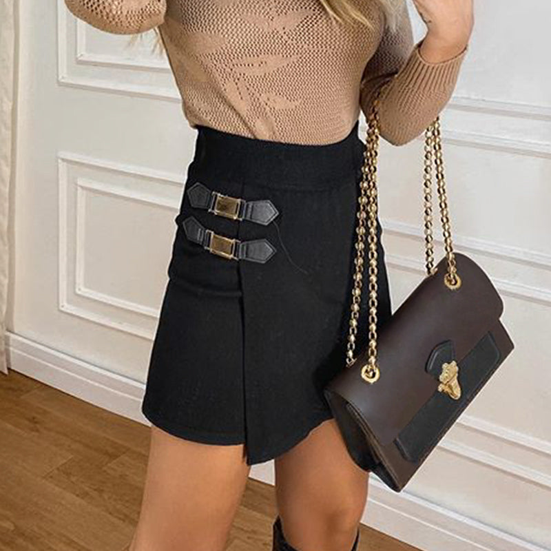 Hands Are Tied High Waisted Skirt