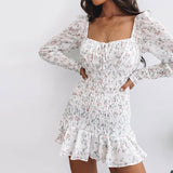 Come and Go Ruffle Hem Dress