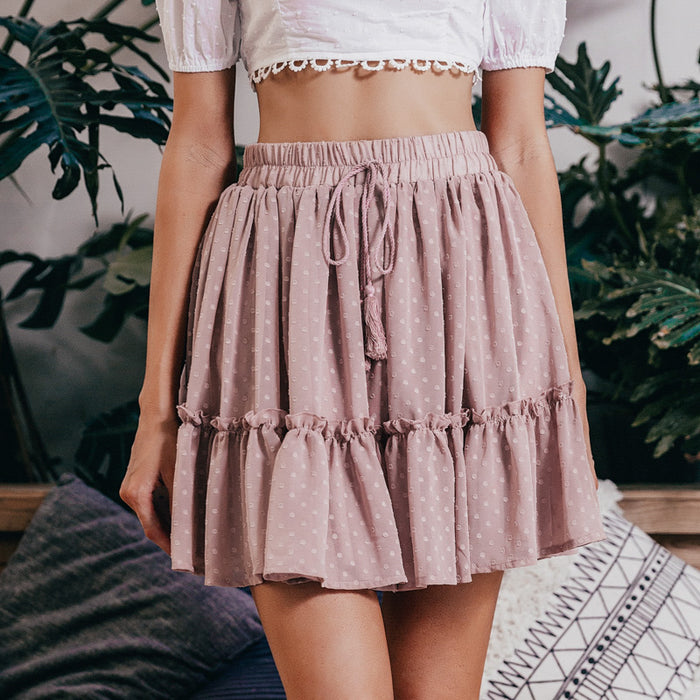Love Of Your Life Ruffle Hem Skirt