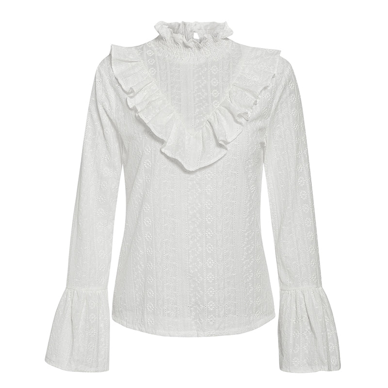 Fever Pitch Ruffle Top