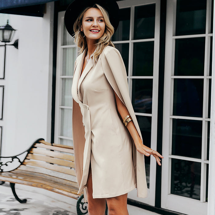 Call Me Crazy Sleeveless Blazer Dress