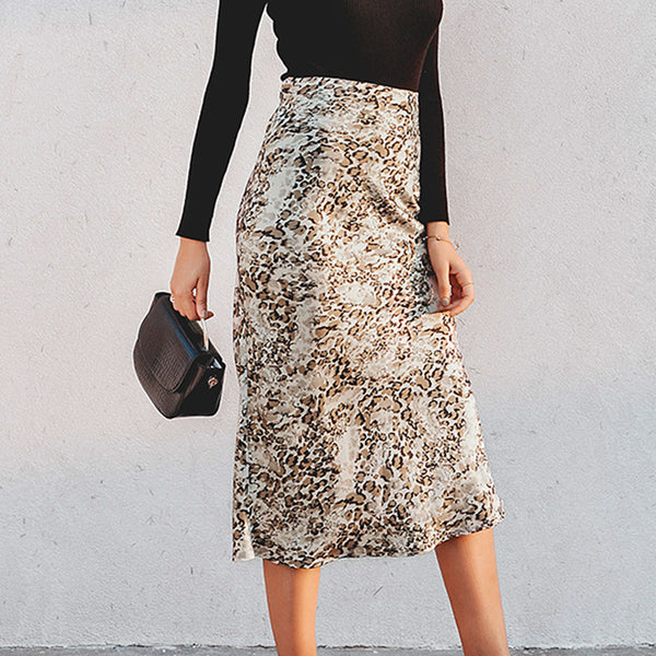 Sight Seeing High Waisted Midi Skirt