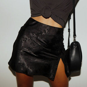 Limited Edition High Slit Skirt